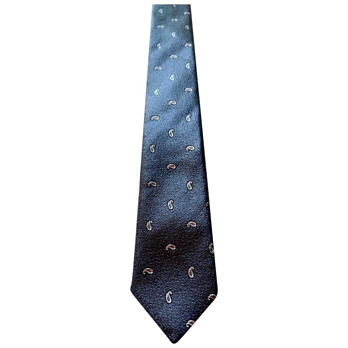 Dolce & Gabbana \N Krawatten in  Marine Seide
