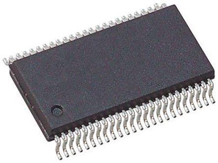 Texas Instruments SN74LVCH16245ADGGR, Dual Bus Transceiver, Bus Transceiver, 16-Bit Non-Inverting 3-State, 48-Pin TSSOP (5)