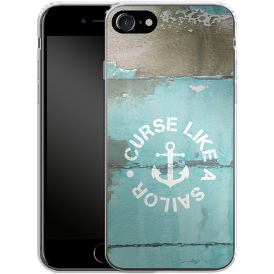 Apple iPhone 7 Silikon Handyhuelle - Curse Like A Sailor von Statements