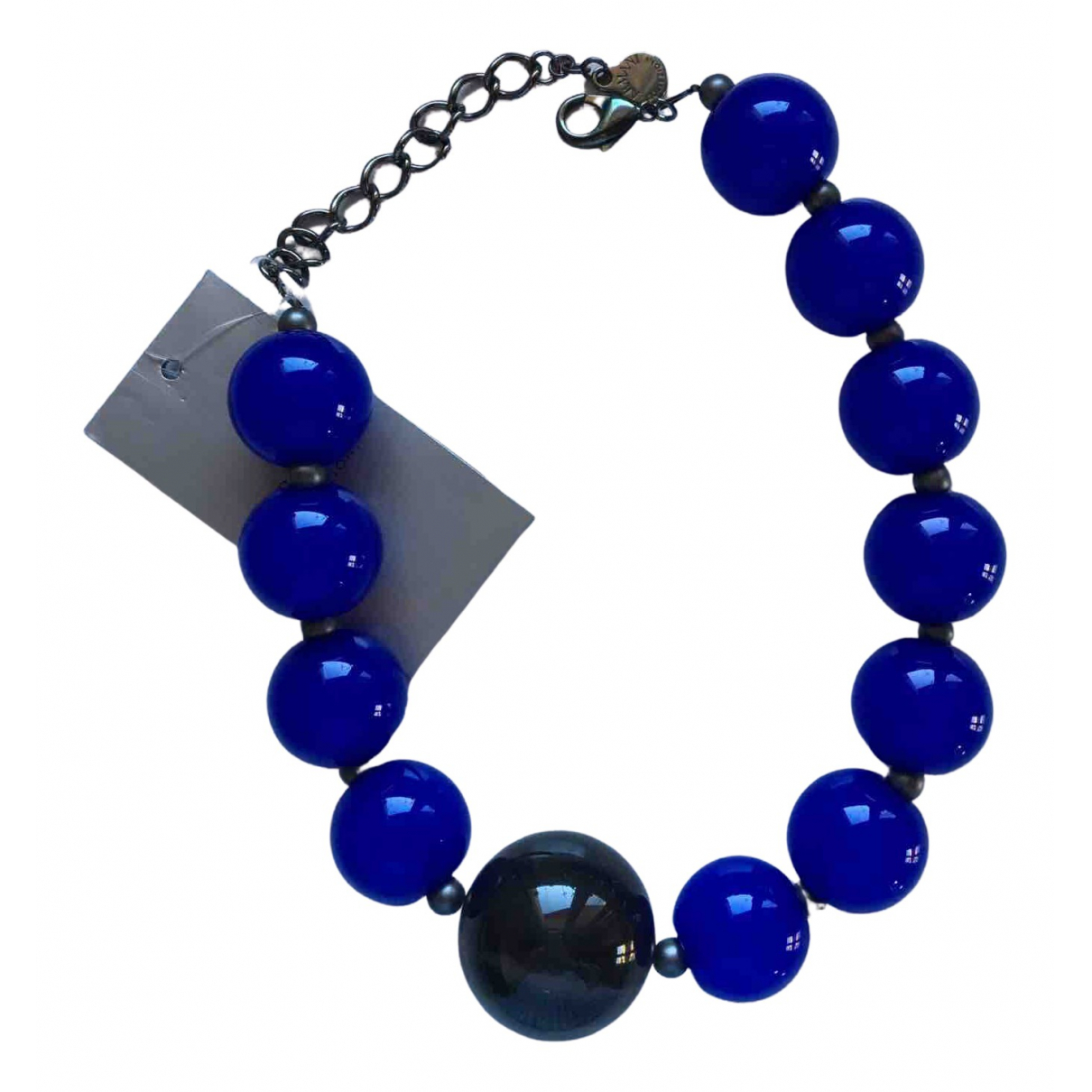 Armani Collezioni - Collier   pour femme - bleu