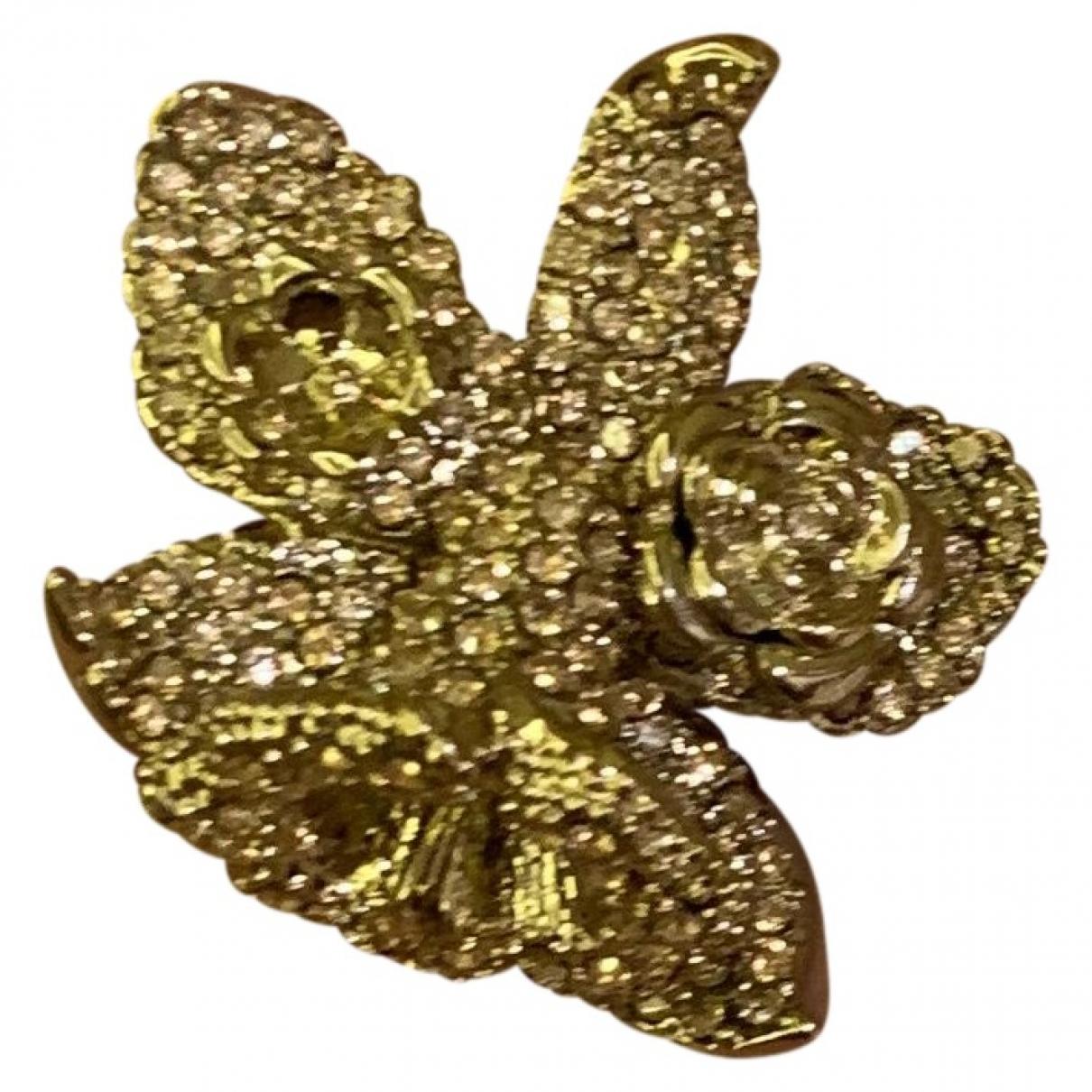 Versace X H&m - Bague   pour femme en plaque or - dore