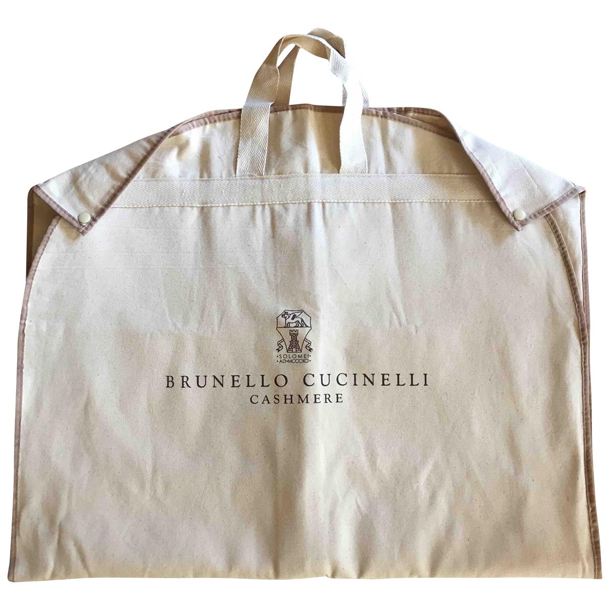 Brunello Cucinelli - Voyages   pour lifestyle en coton - ecru