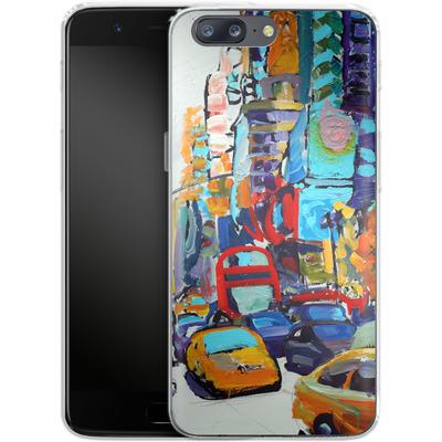 OnePlus 5 Silikon Handyhuelle - Busboys Lament von Tom Christopher
