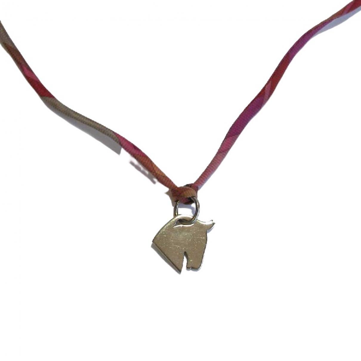 Hermes \N Armband in  Silber Metall