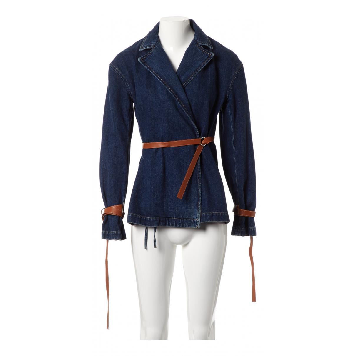 Loewe N Blue Denim - Jeans jacket for Women 36 FR