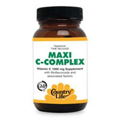 Maxi-C Complex Vitamin C 180 Tabs by Country Life