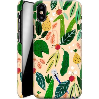 Apple iPhone XS Smartphone Huelle - Tropical Greens von Iisa Monttinen