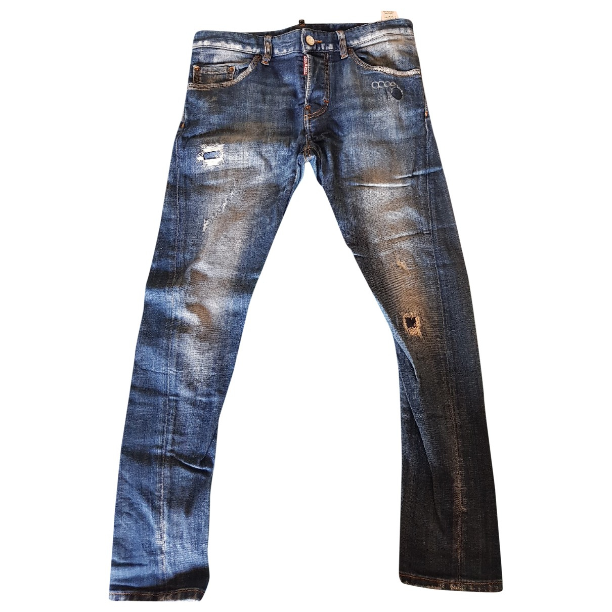 Dsquared2 \N Blue Denim - Jeans Trousers for Kids 16 years - M FR
