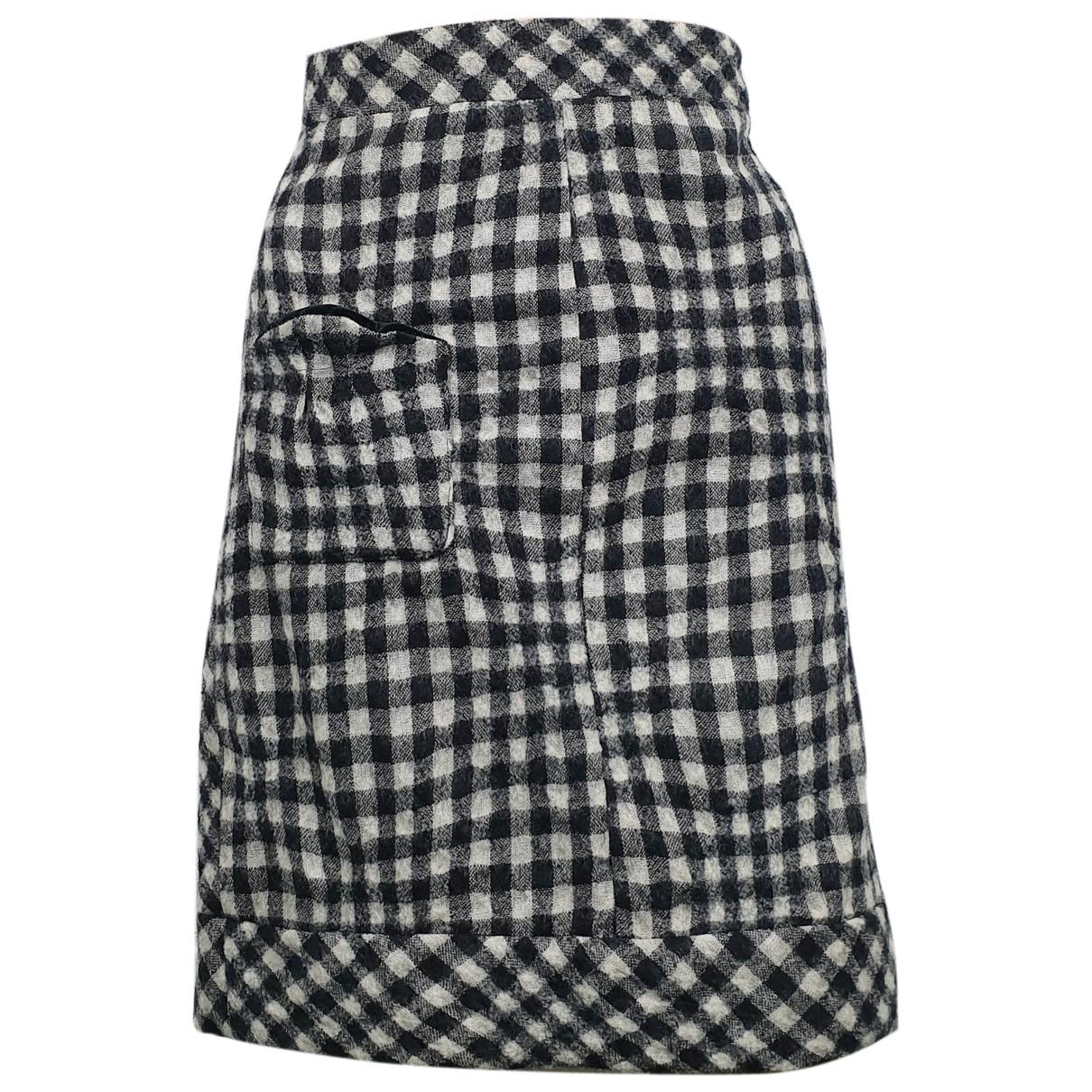 Mini falda de Lana Sonia By Sonia Rykiel