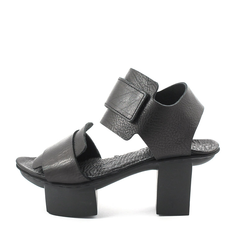 Trippen, Visor Happy Women's Sandals, black Größe 41