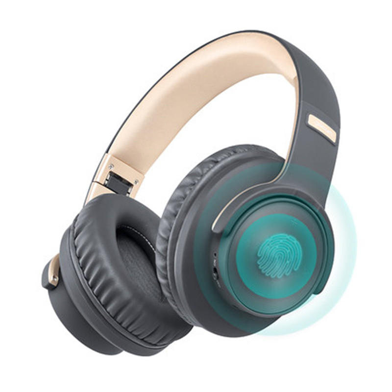 Picun B8 Hifi Headphone bluetooth 5.0 Touch Control Fast Charge Wireless Stereo Headset With Mic for Xiaomi Huawei