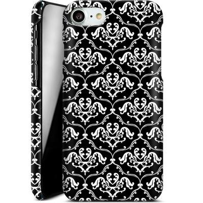 Apple iPhone 8 Smartphone Huelle - Black French Lillies von caseable Designs