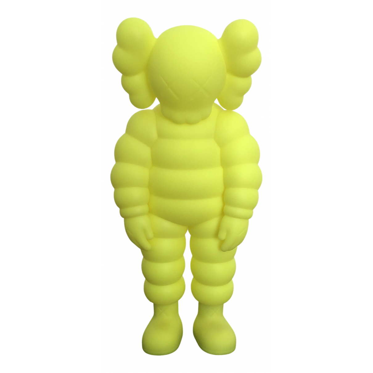 Kaws - Art   pour lifestyle - jaune
