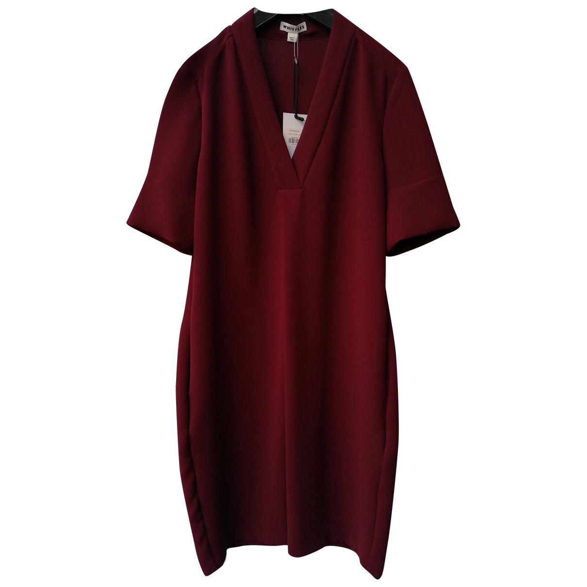 Whistles \N Kleid in  Bordeauxrot Polyester