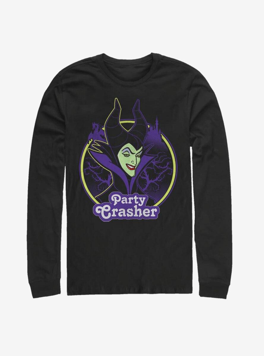 Disney Sleeping Beauty Maleficent Party Crasher Long-Sleeve T-Shirt