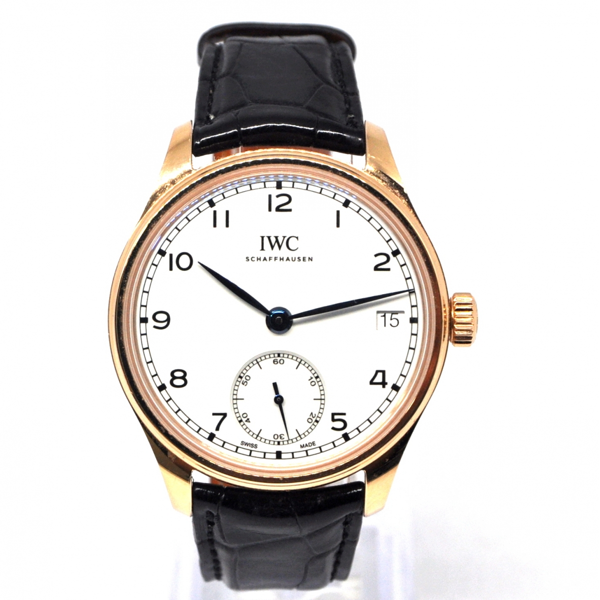 Iwc Portugaise Uhr in Rosegold