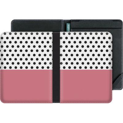 tolino vision 4 HD eBook Reader Huelle - Coral Dots von caseable Designs
