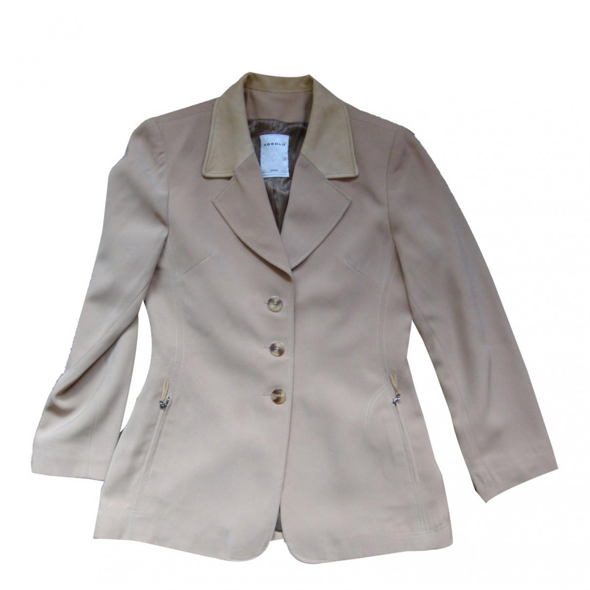 Absolu \N Beige jacket for Women 38 FR