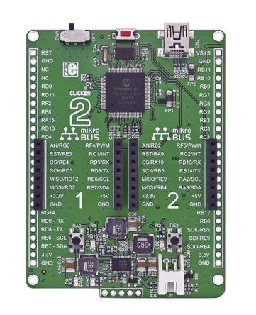 MikroElektronika Clicker 2 MCU Development Board MIKROE-2547