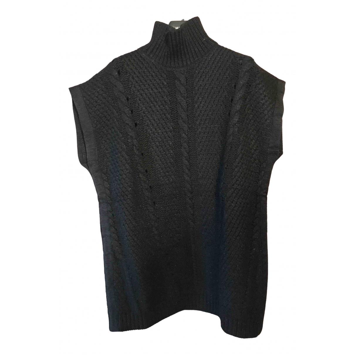 Nina Ricci - Pull   pour femme en laine - noir