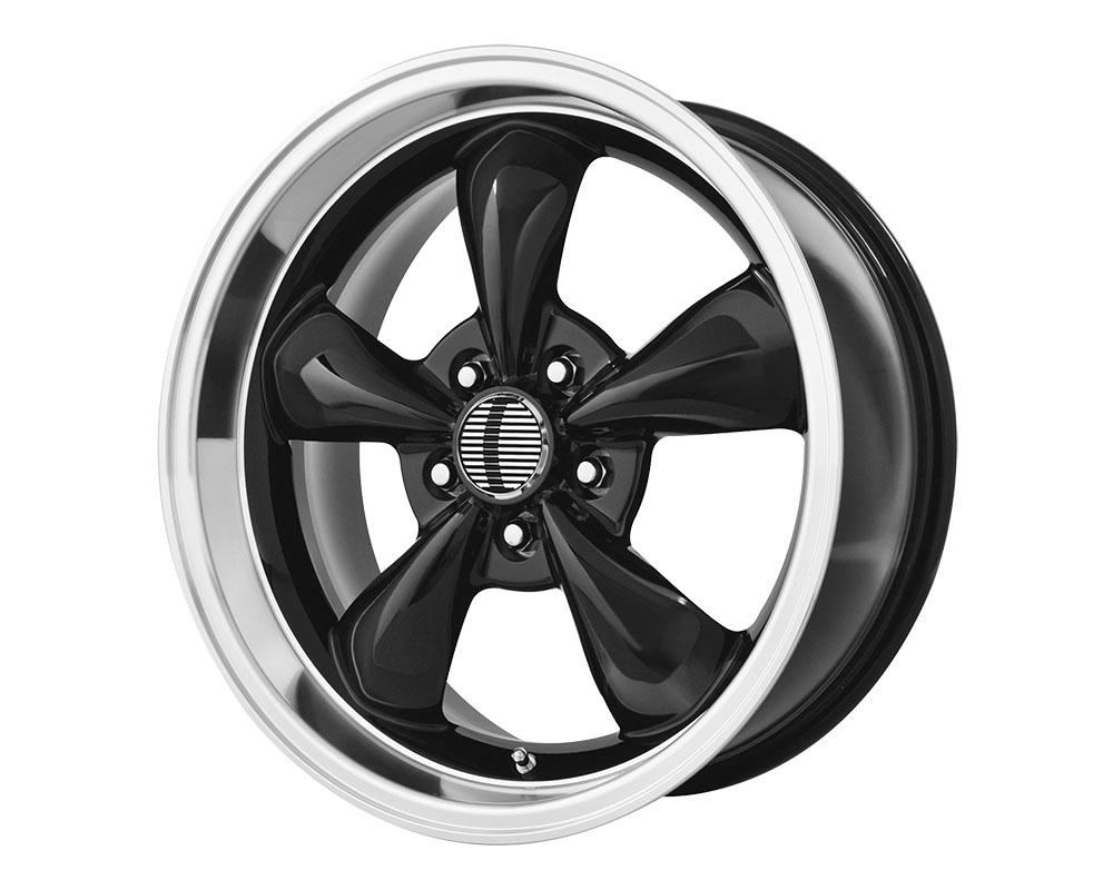OE Creations 106B-716527 PR106 Wheel 17x10.5 5x5x114.3 +27mm Gloss Black/Machined Lip