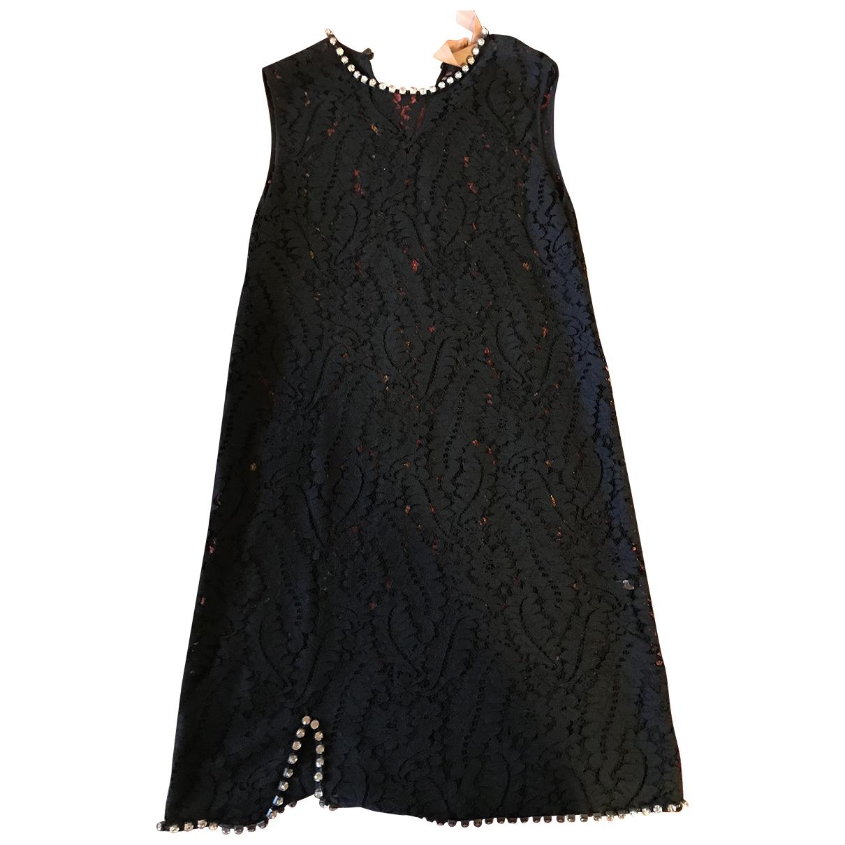 N°21 \N Black Lace dress for Women 42 IT