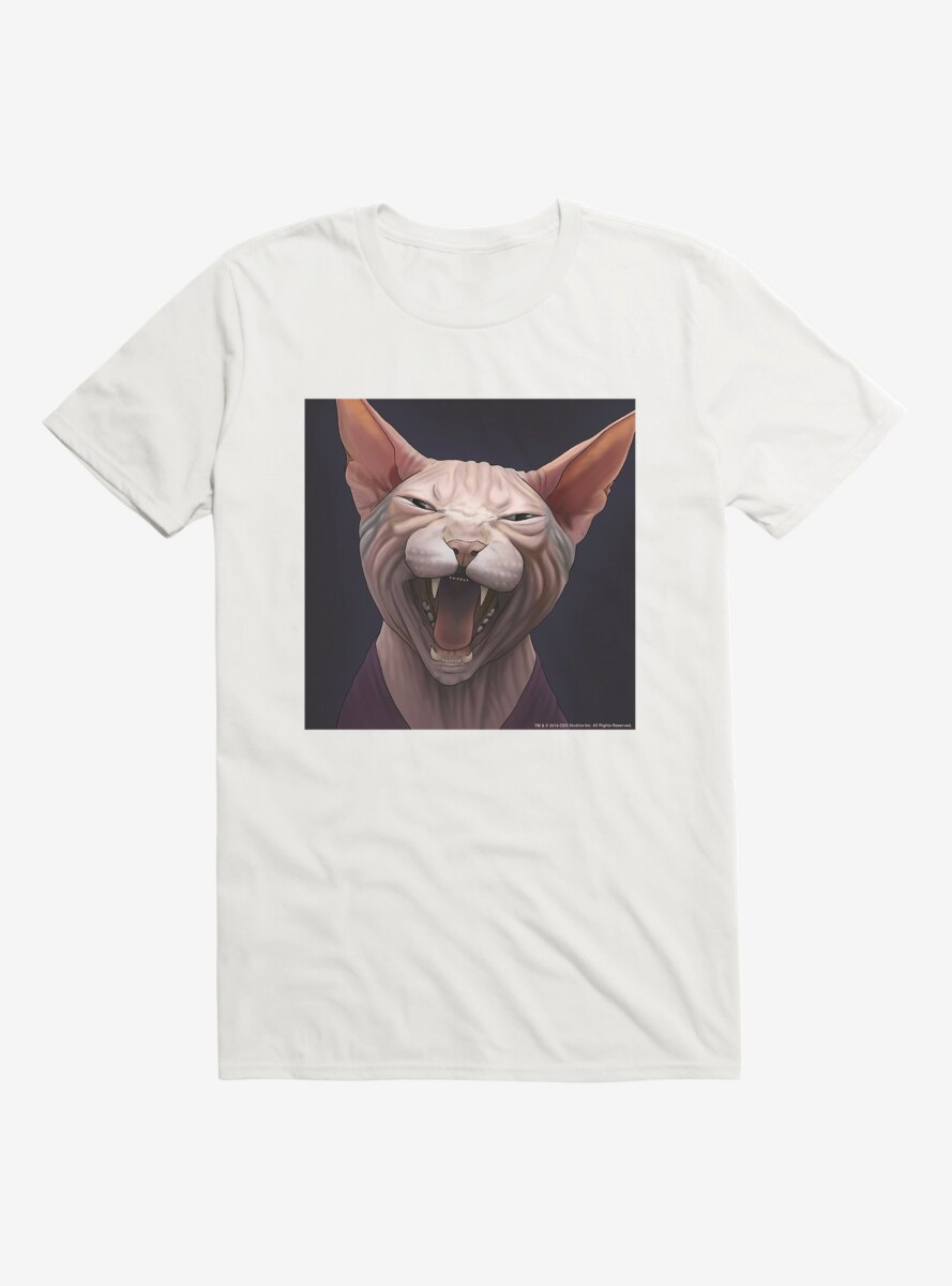 Star Trek The Next Generation Cats Picard Meow T-Shirt