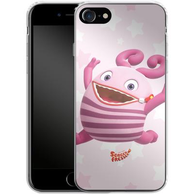 Apple iPhone 8 Silikon Handyhuelle - Sorgenfresser Frula von Sorgenfresser