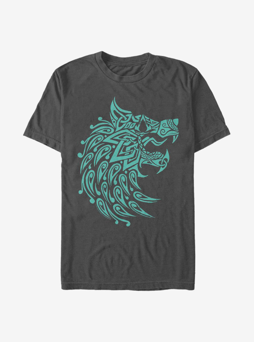 Assassin's Creed Valhalla Wolf Face T-Shirt