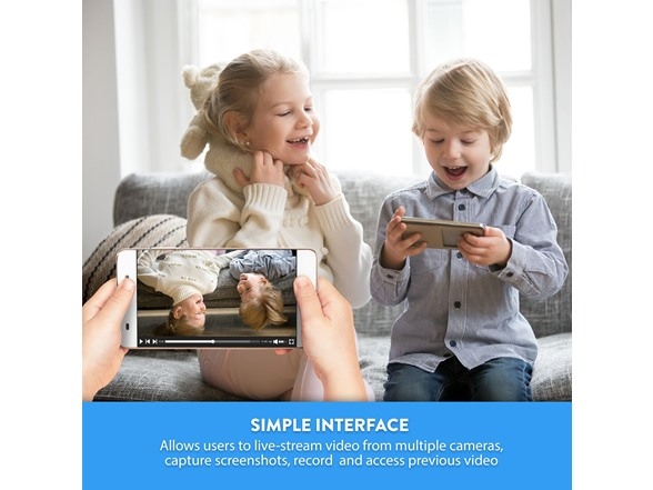 Tova Smart Indoor Wifi Camera 2 Pack