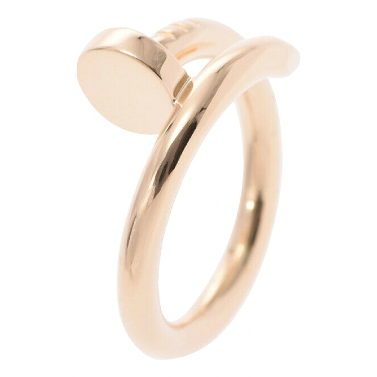 Cartier Juste un Clou Gold Pink gold ring for Women 52 mm.