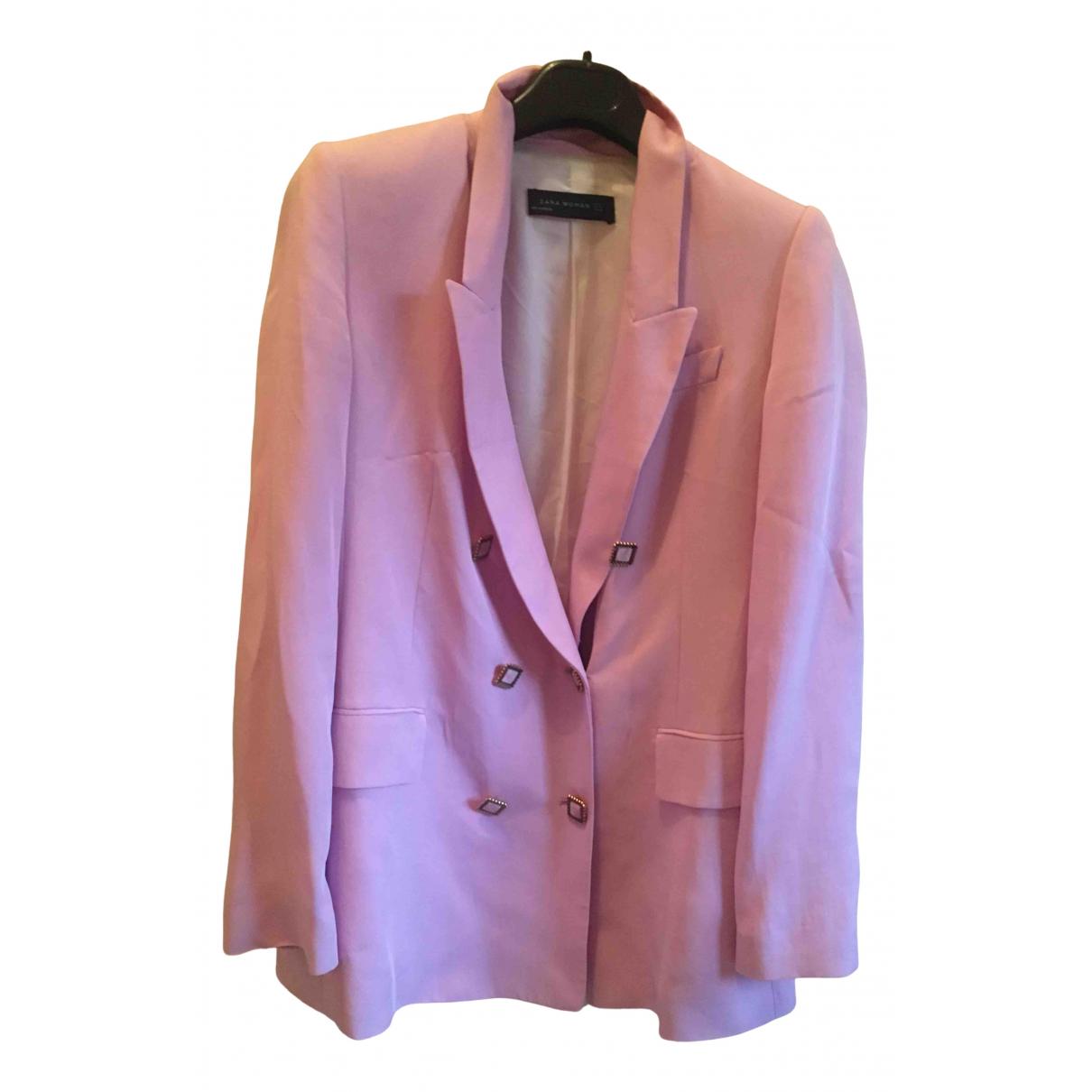 Zara - Veste   pour femme - rose