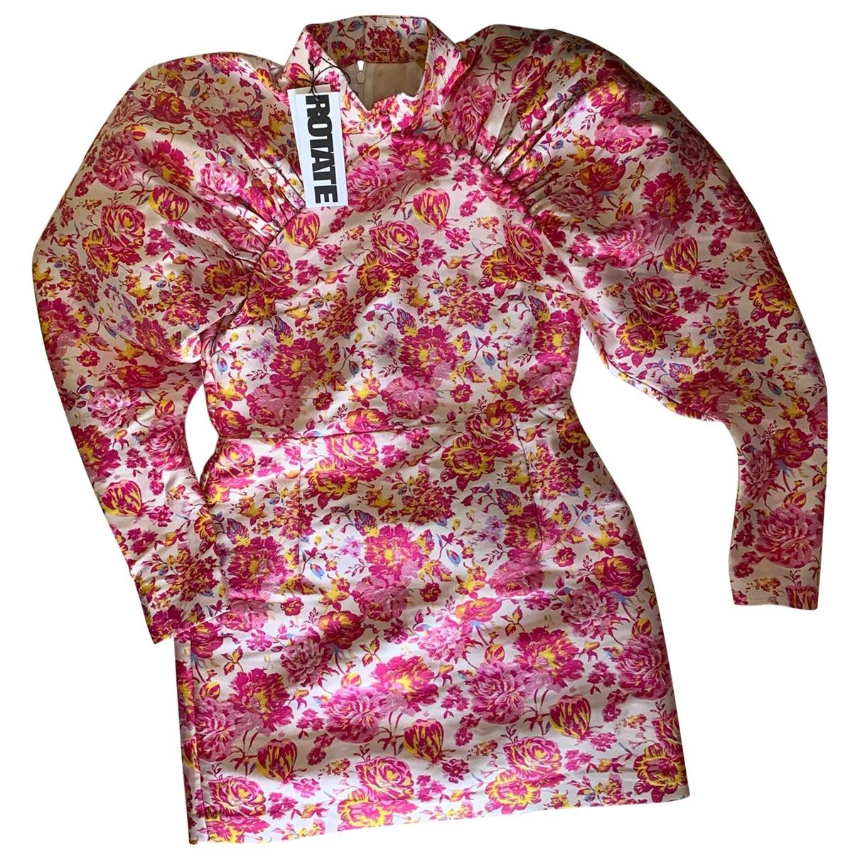 Rotate \N Beige Cotton dress for Women 40 FR