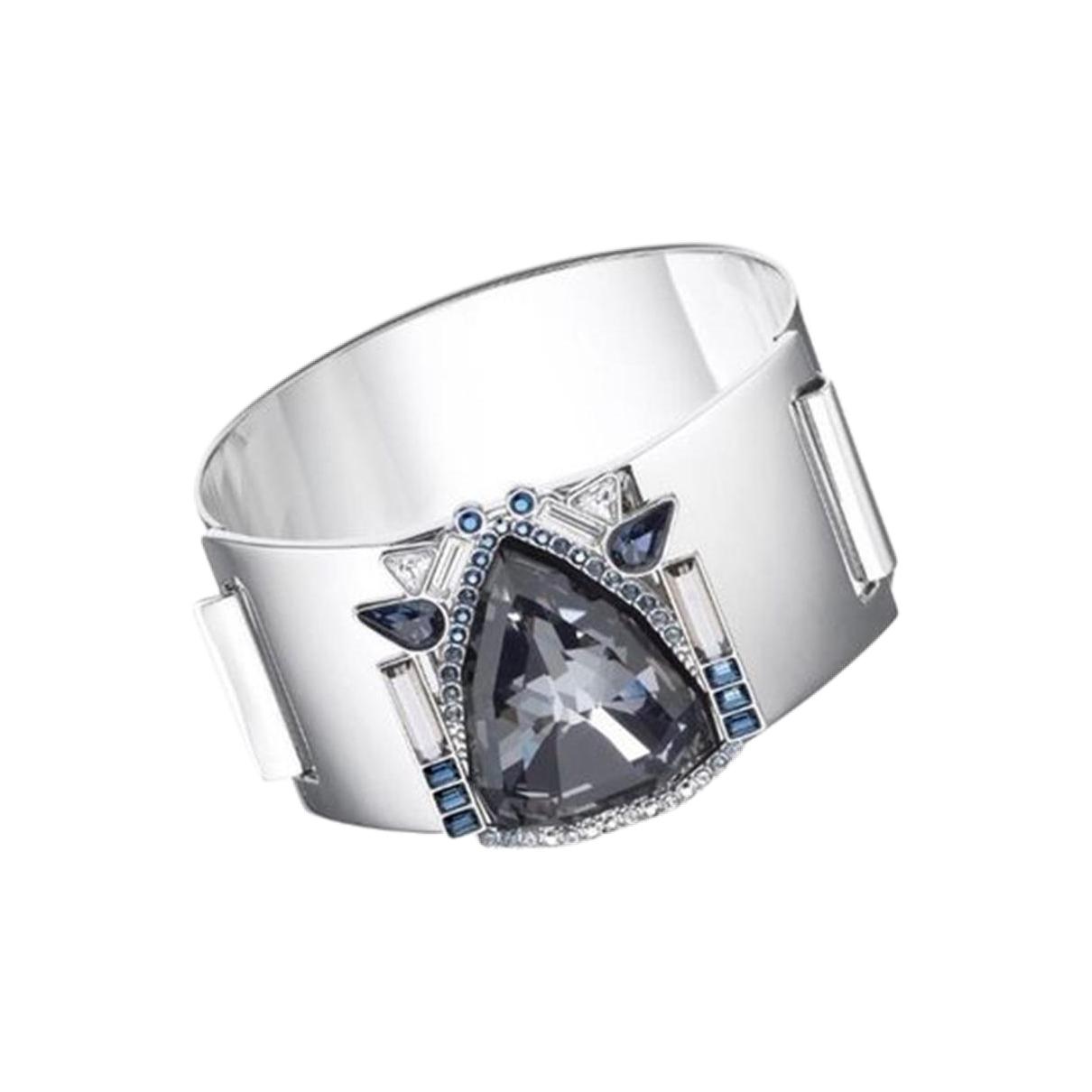 Swarovski \N Silver Steel bracelet for Women \N