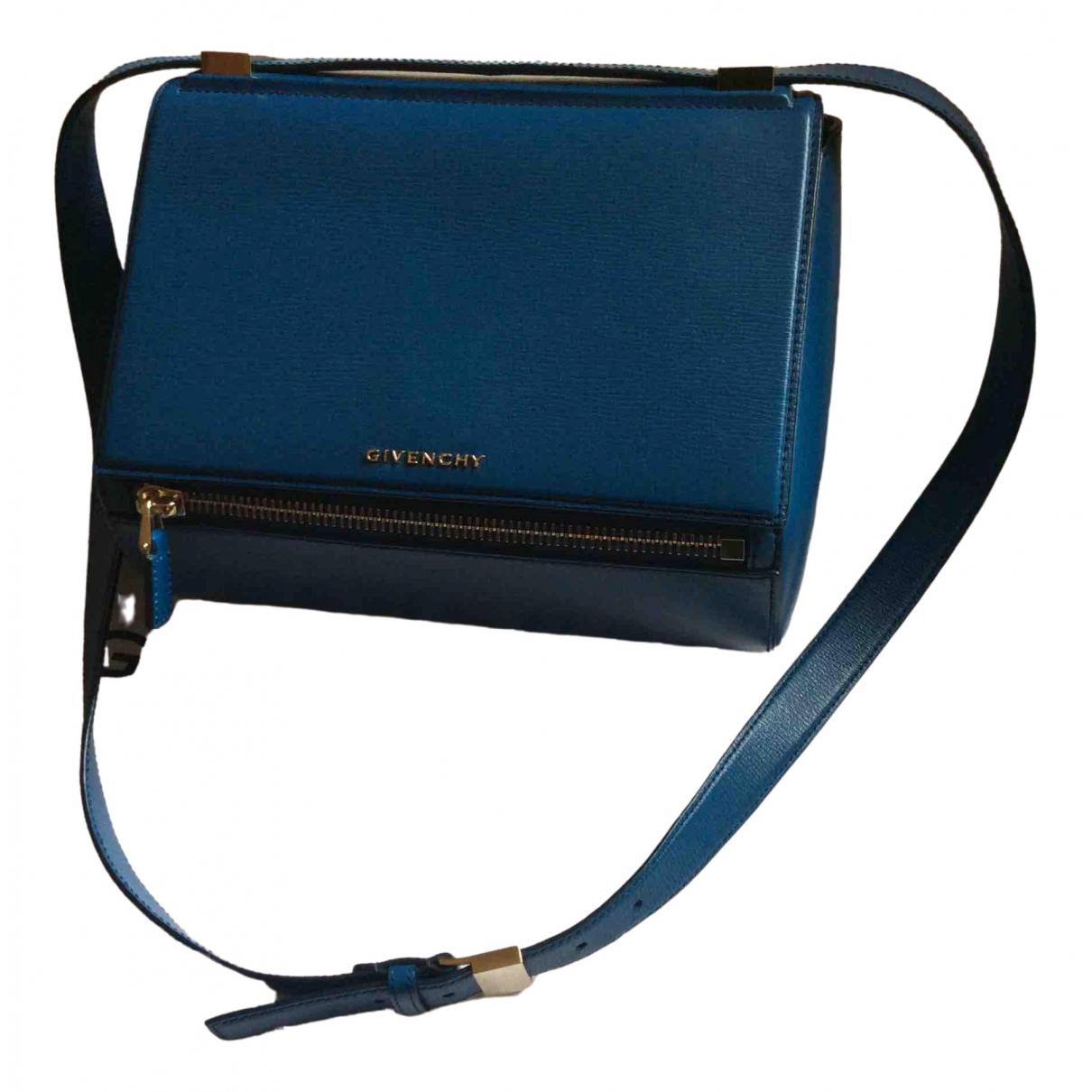 Givenchy Pandora Box Blue Leather handbag for Women \N