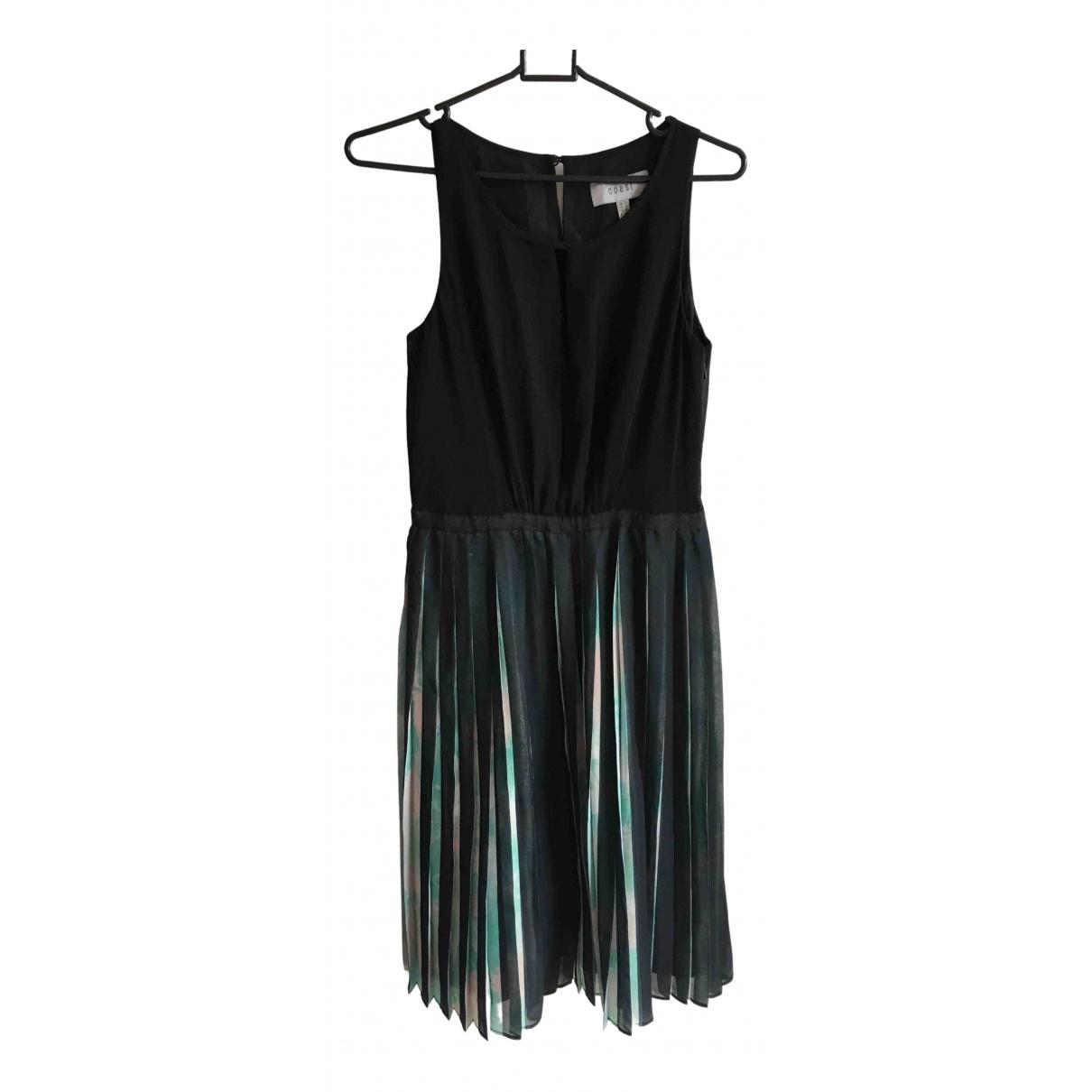 Coast \N Kleid in  Schwarz Polyester