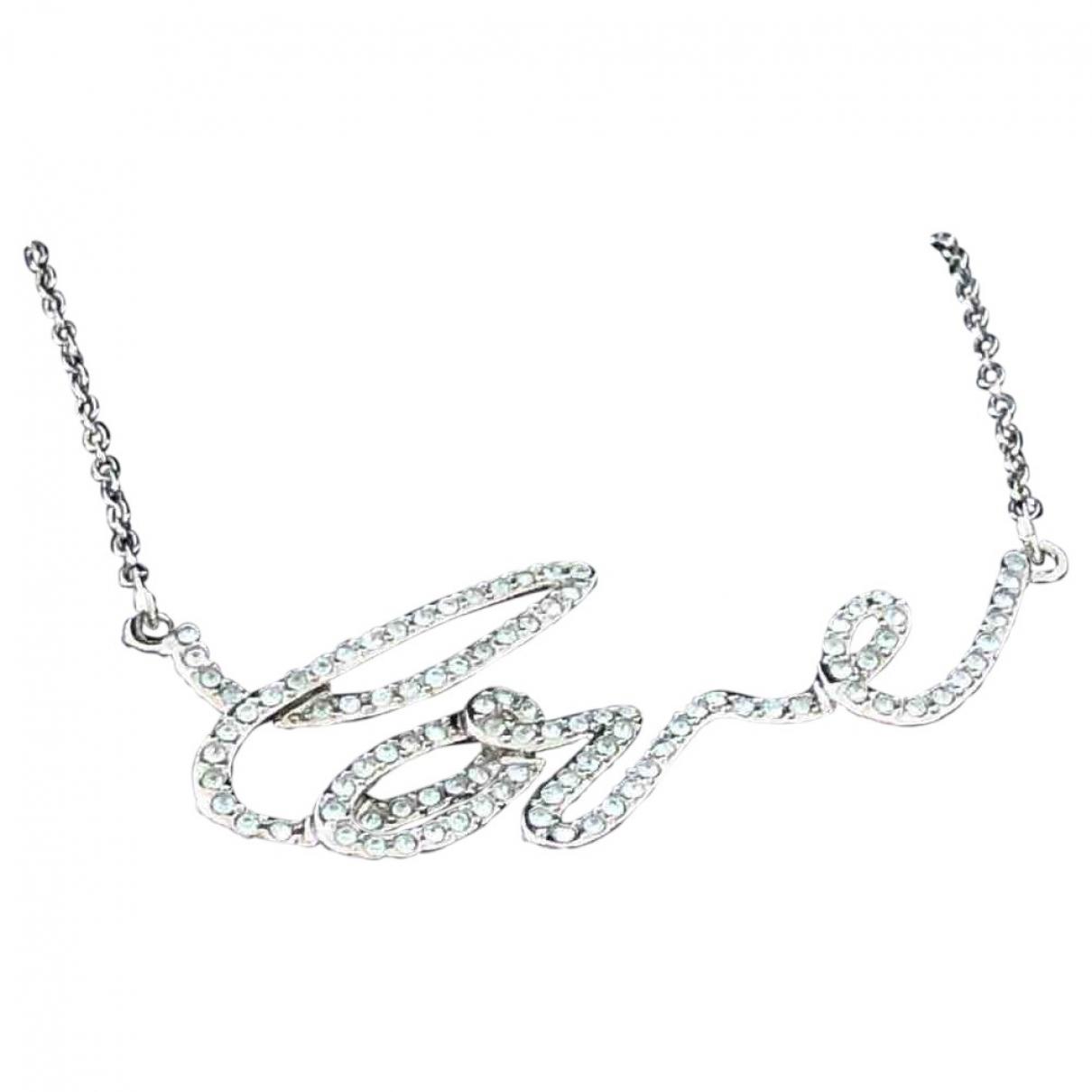 Swarovski - Collier   pour femme en cristal - anthracite