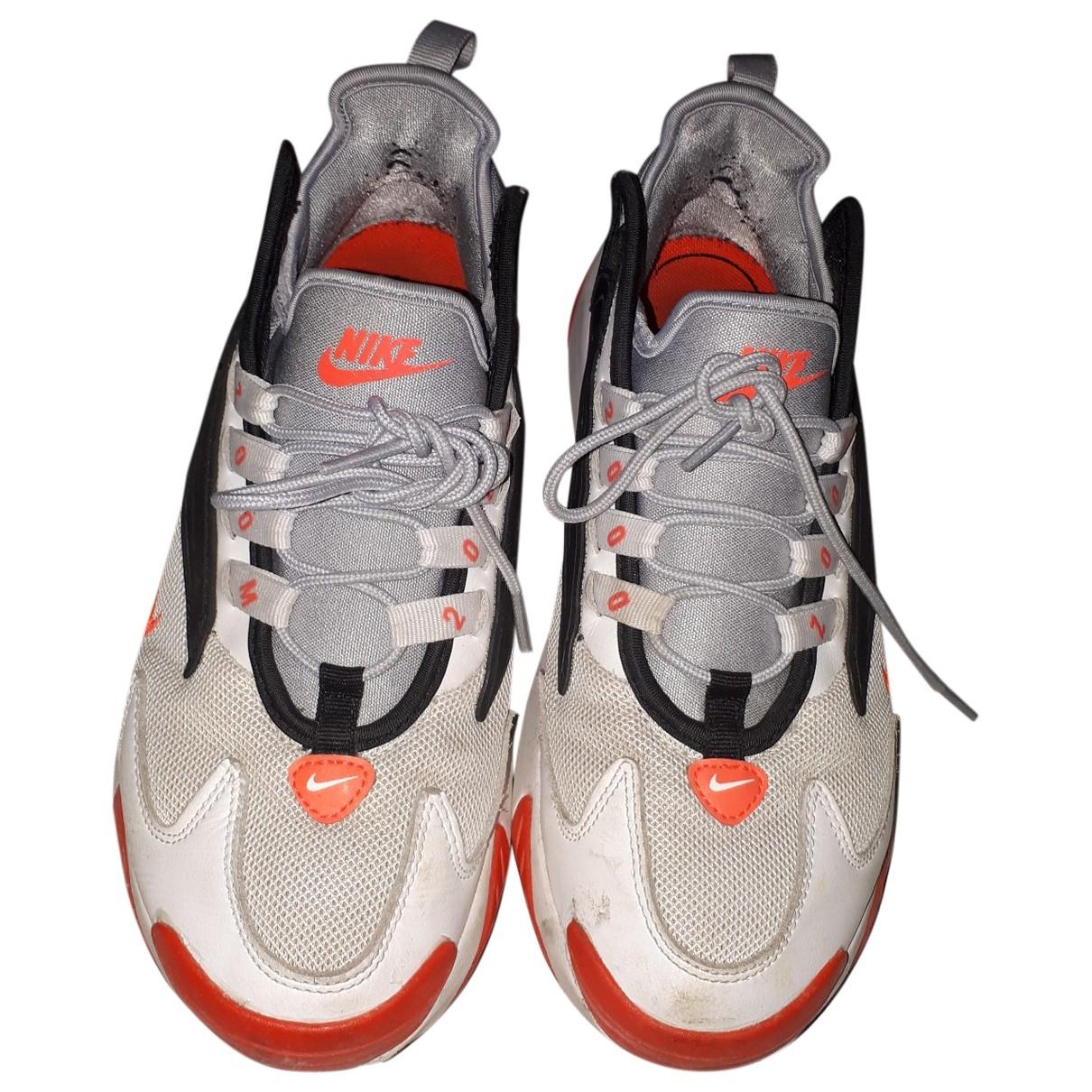 Nike Zoom Sneakers in  Weiss Leder