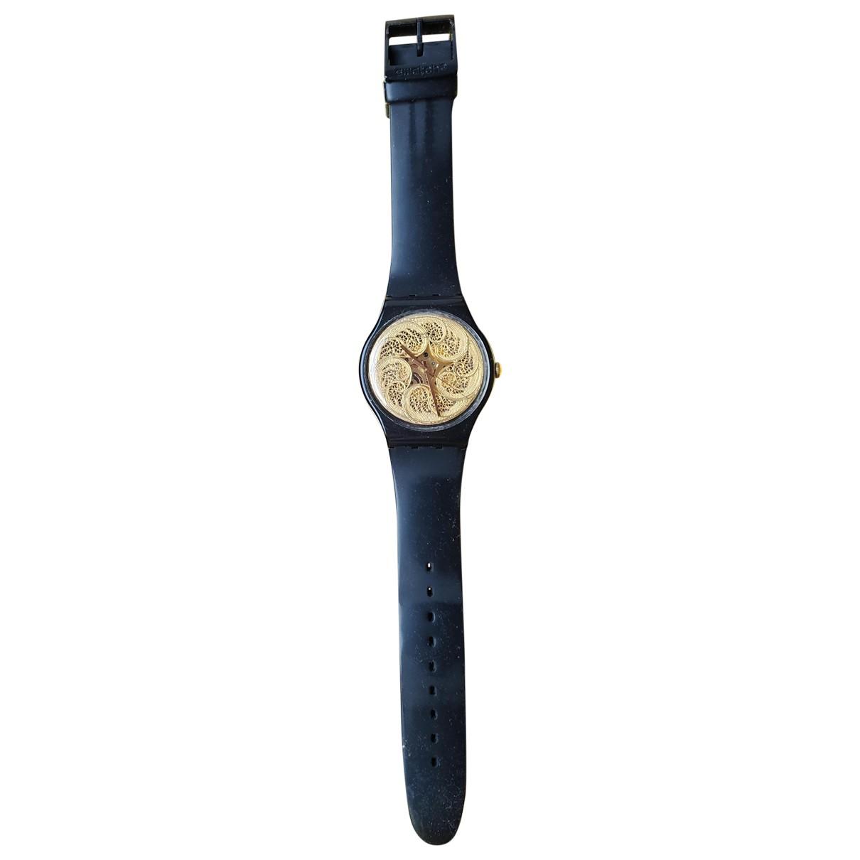 Swatch \N Uhr Gold