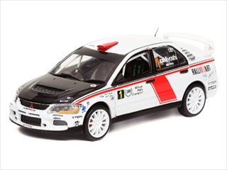 Mitsubishi Lancer IX 1 H.Miyoshi/H.Ichino Winner Rally Africa 1/43 Diecast Model Car by Vitesse