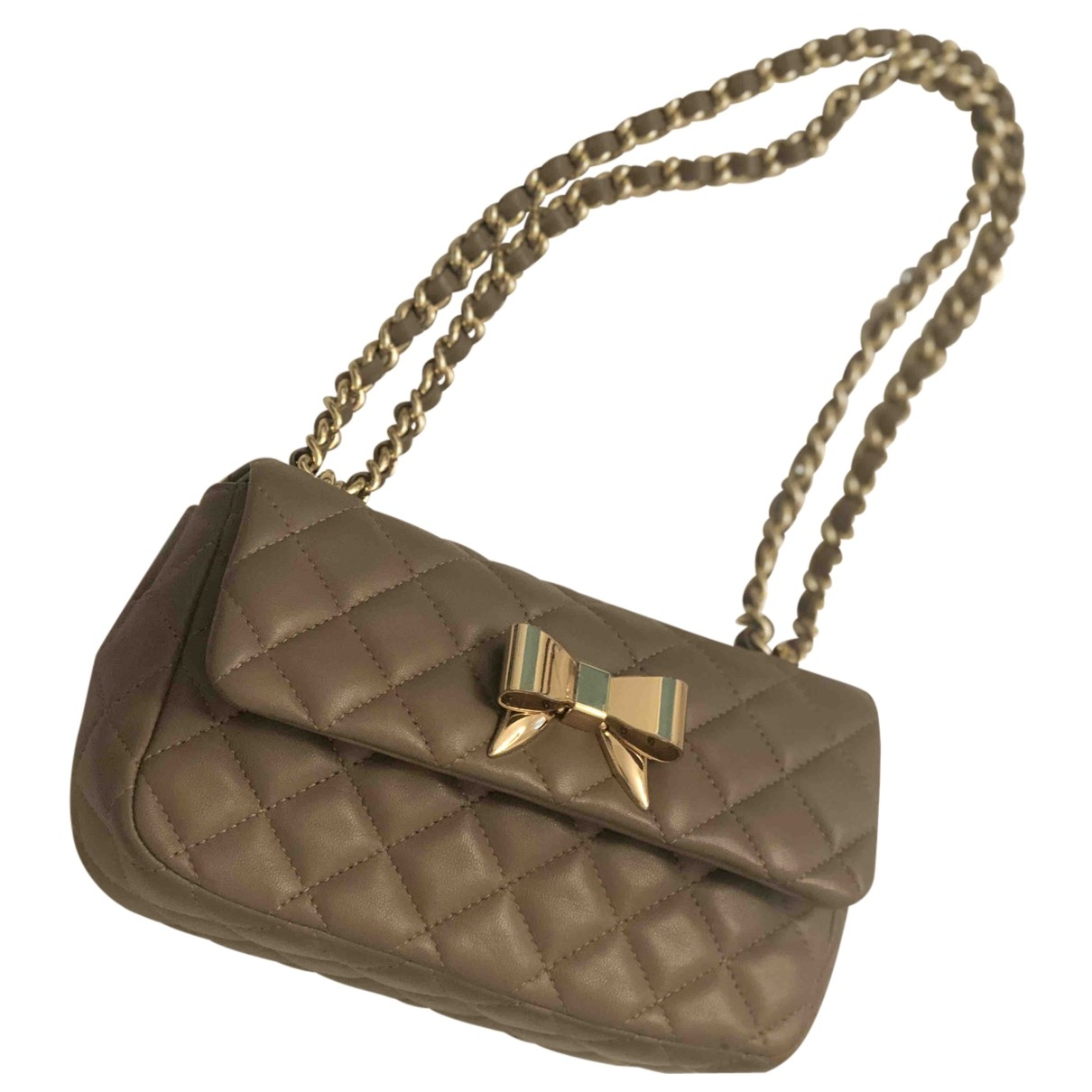 Moschino \N Leather handbag for Women \N