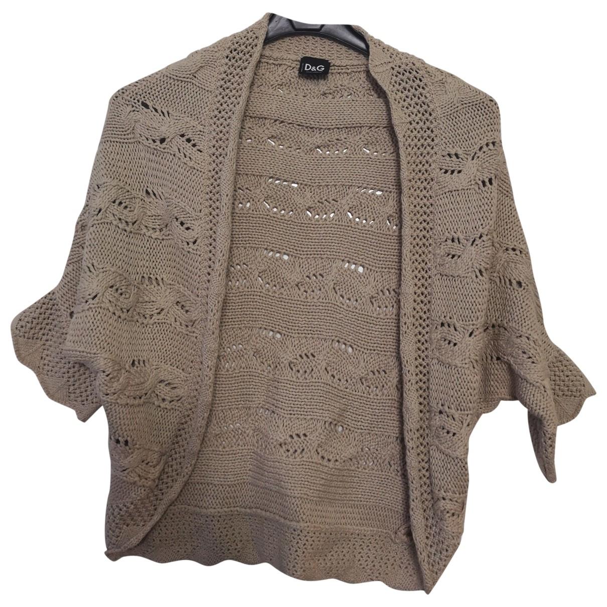 D&g \N Pullover in  Beige Baumwolle