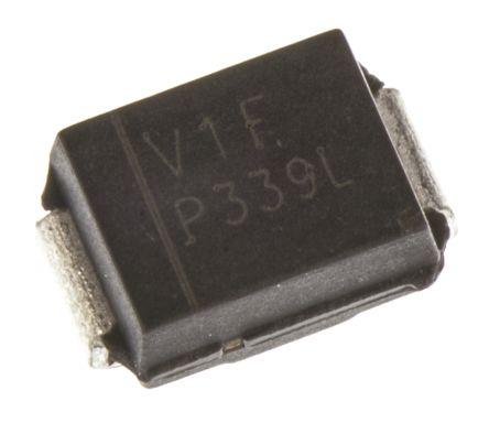 Vishay 40V 1A, Schottky Diode, 2-Pin DO-214AA VS-10BQ040-M3/5BT (5)