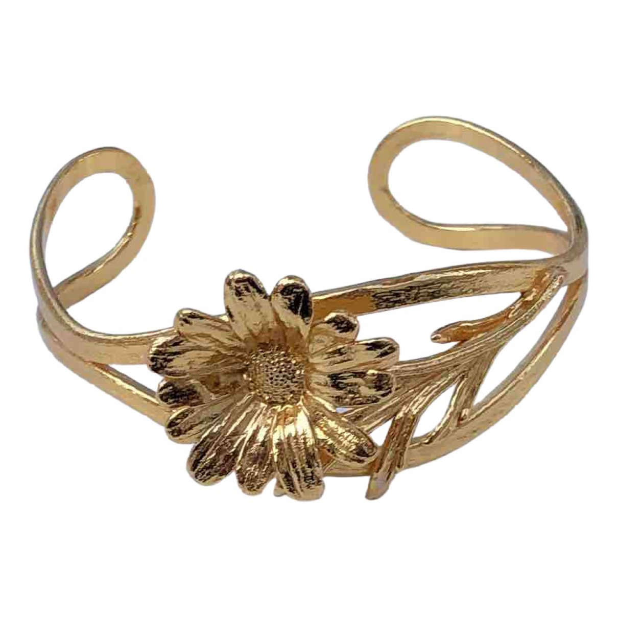 - Bracelet Motifs Floraux pour femme en vermeil - dore