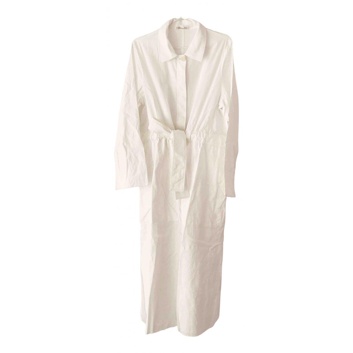 Cos \N Kleid in  Weiss Baumwolle