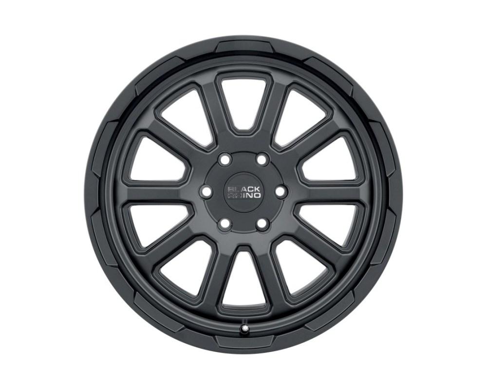 Black Rhino Chase Matte Black Wheel 17x9 6x120 12mm CB87.1