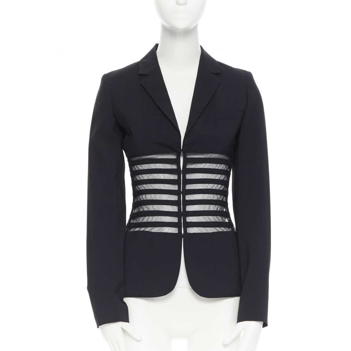 Jean Paul Gaultier \N Black Wool jacket for Women 38 IT
