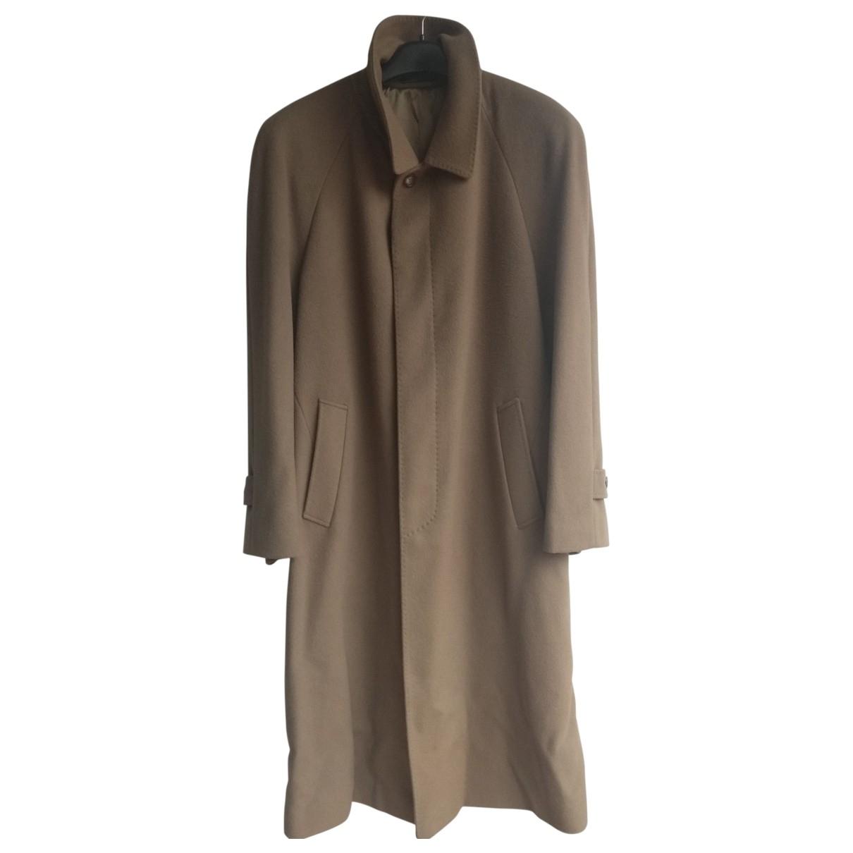- Manteau   pour homme en laine - camel