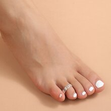 Hollow Out Toe Ring
