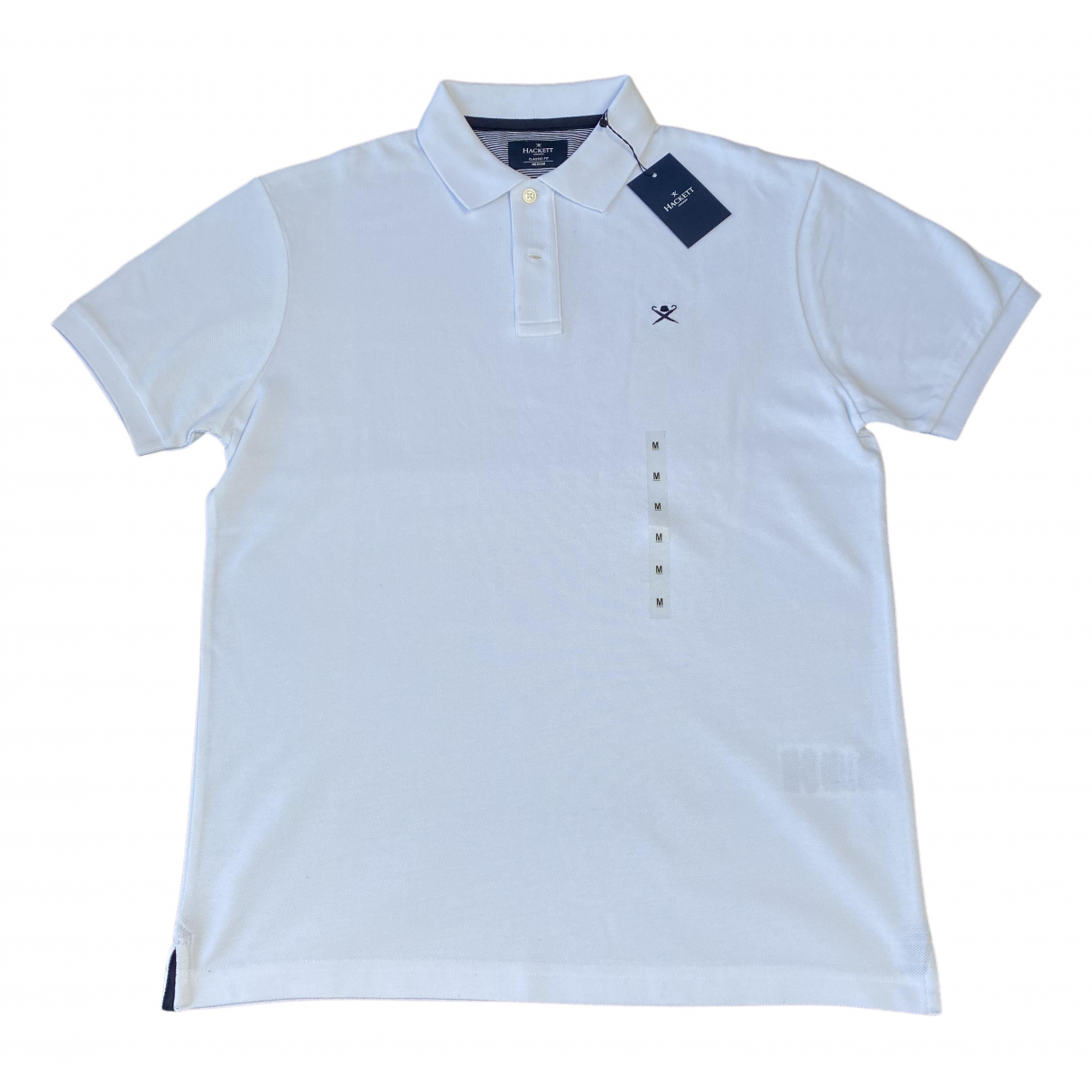 Hackett London \N Poloshirts in  Weiss Baumwolle